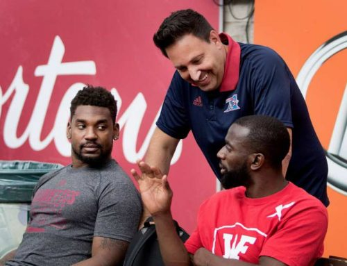 Inside the CFL: Life coach helps Alouettes separate person from player | Montreal Gazette